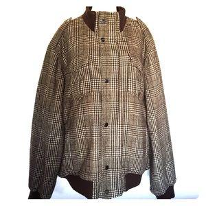 Sean John Plaid Winter Coat Jacket XXXL 3XL